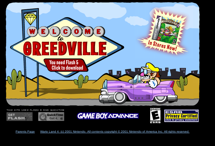 Welcome to Greedville